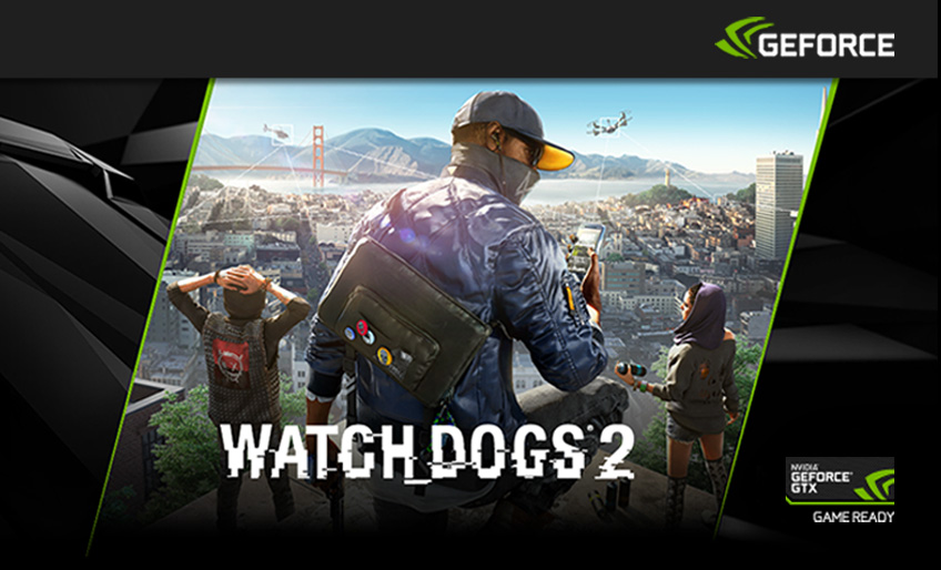 Nvidia Watch Dogs 2 Header
