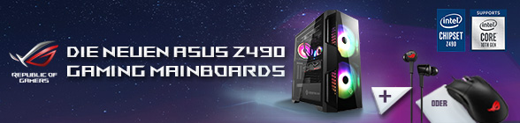 ASUS Z490 Launch Bundle