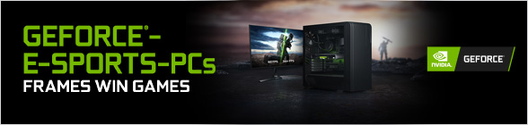 Nvidia GeForce eSports PCs