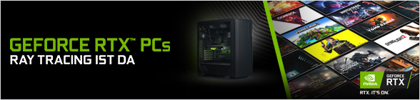 Nvidia GeForce RTX PCs
