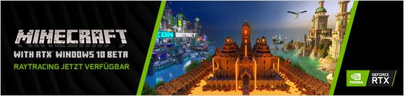 Nvidia Minecraft with RTX