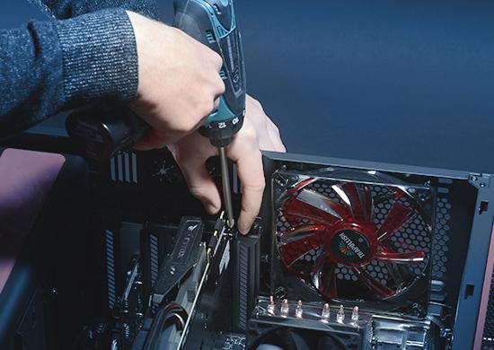 PC Aufrüstung - Einbau einer neuen Grafikkarte
