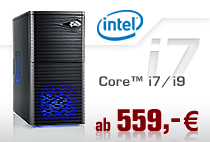 Aufrüst-PCs Intel Core i7/i9