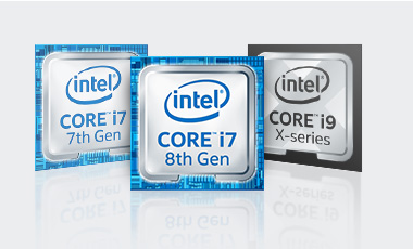 PC-Systeme Intel Core i7 und Intel Core i9