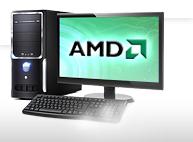AMD-Systeme mit Monitor