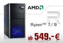 Aufrüst-PCs AMD Ryzen 7/9
