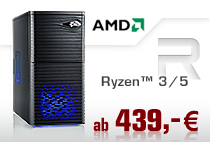 PC-Systeme AMD Ryzen 3/5