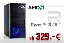 Aufrüst-PCs AMD Ryzen 3/5