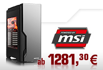 Powered by MSI PCs