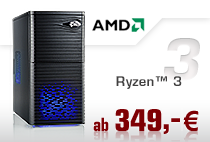PC-Systeme AMD Ryzen 3
