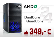 PC-Systeme AMD Dual/Quad