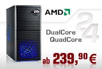 Aufrüst-PCs AMD Dual/Quad