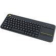 2in1 Logitech K400 Plus Touch Keyboard