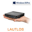 Mini-PC - CSL Narrow Box Ultra HD Compact / 256GB M.2 SSD / Win 10 Pro