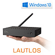 Mini PC - CSL Narrow Box Ultra HD Storage Line / 500GB M.2 SSD / Win 10
