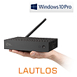 Mini PC - CSL Narrow Box Ultra HD Storage Line Pentium / 500GB M.2 SSD / Win 10 Pro