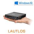 Mini-PC - CSL Narrow Box Ultra HD Compact Pentium / 128GB M.2 SSD / Win 10