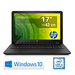 Notebook HP 17 / i3-7020U / Win 10 Home