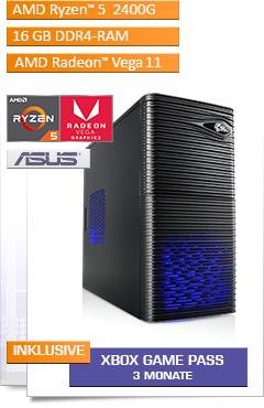 PC - CSL Sprint 5826 (Ryzen 5) - Powered by ASUS