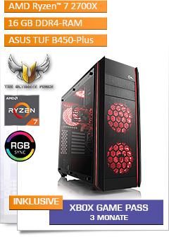 Aufrüst-PC 943 - AMD Ryzen 7 2700X