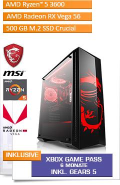 PC - CSL Sprint 5847 (Ryzen 5)