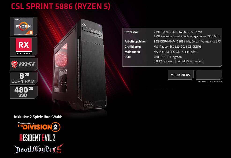 1853f4fc5b3fa4 AMD Radeon RX Bundle - CSL-Computer-Shop