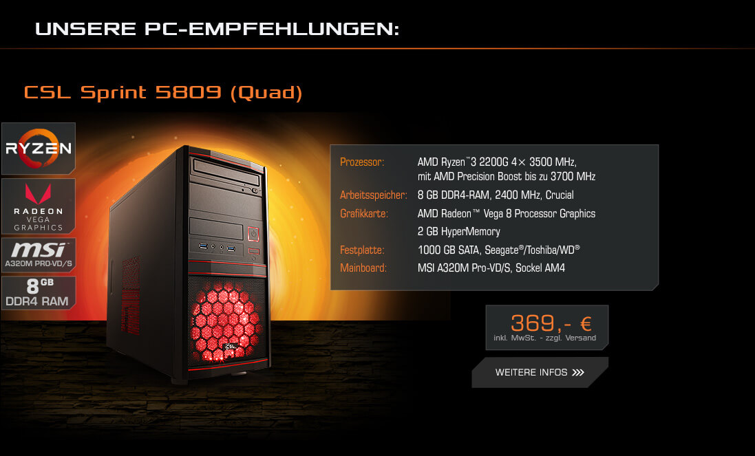 CSL Sprint 5809 (Quad)