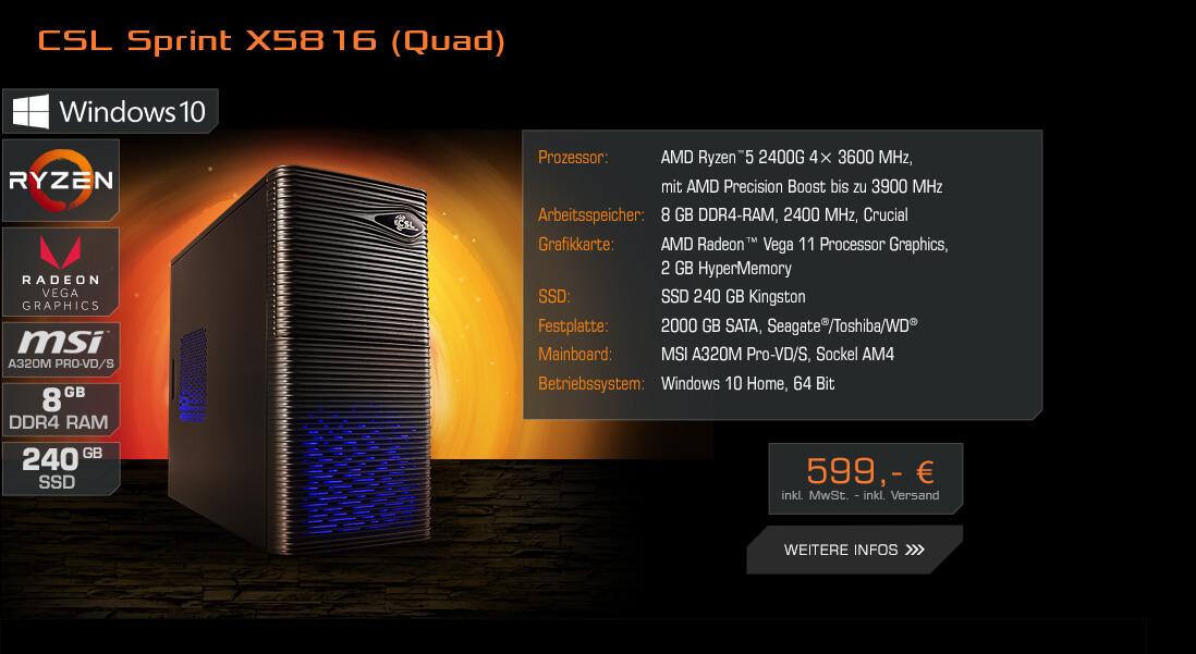 CSL Sprint X5816 (Quad)