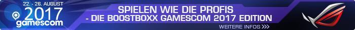 Spielen wie die Profis - die BoostBoxx Gamescom 2017 PCs