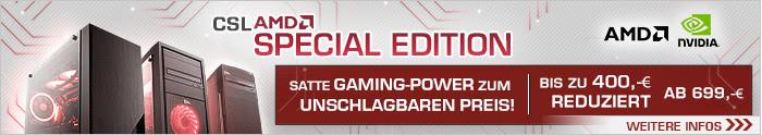 AMD Ryzen Special Edition - Gaming Power zum unschlagbaren Preis!