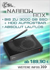 CSL Narrow Box UHD Storage Line