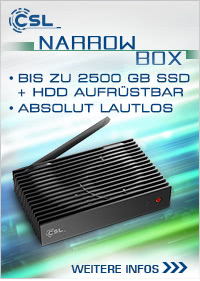 CSL Narrow Box UHD Storage Line