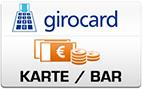 Abholung Karte-/Barzahlung
