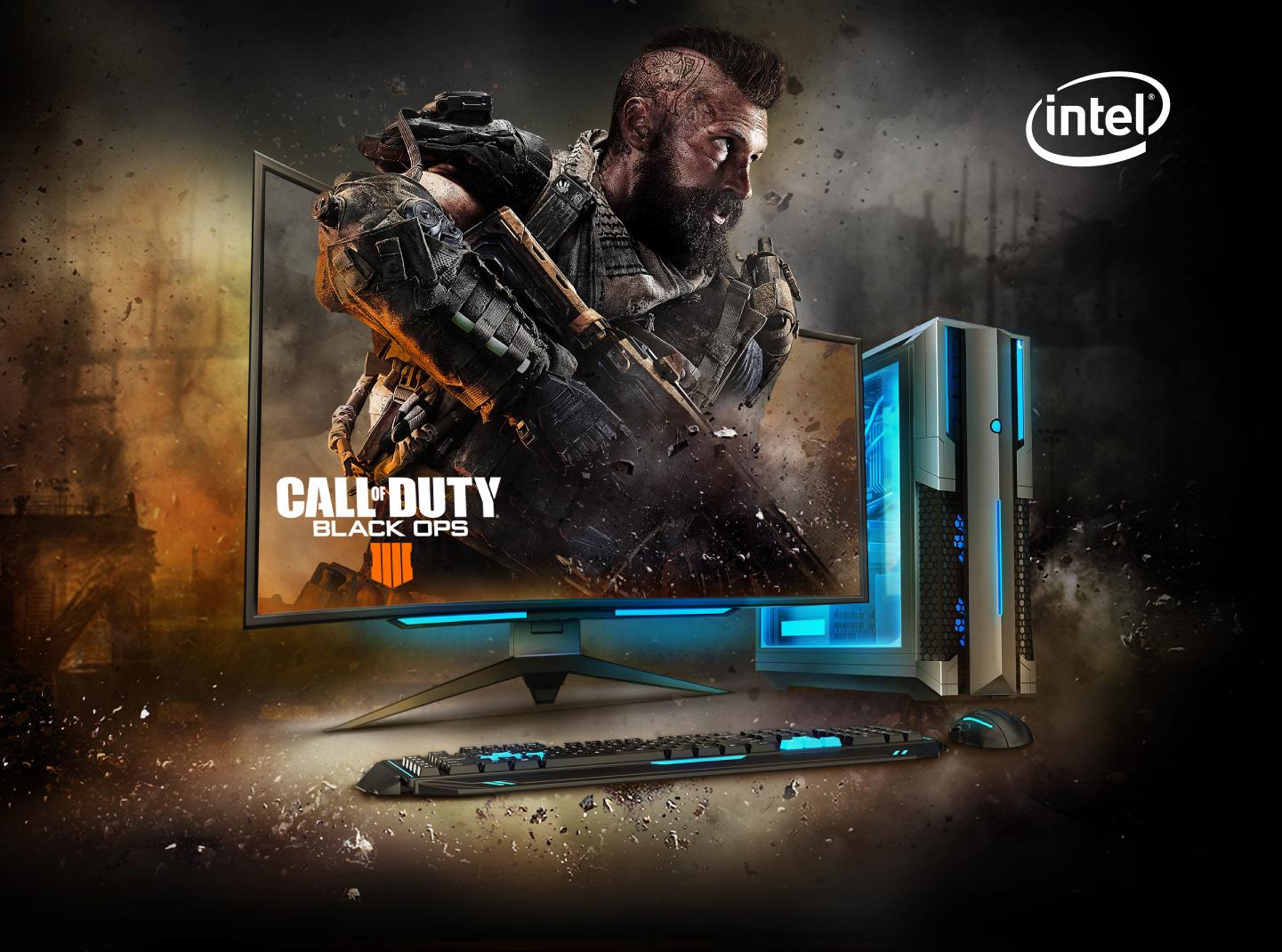Intel Call of Duty: Black Ops 4 Header