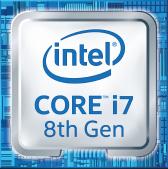 Intel Core i7 8th Gen Logo