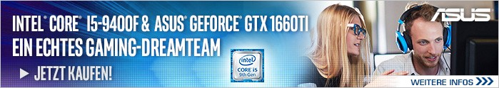 Intel Core i5-9400F und GeForce GTX 1660Ti - Ein echtes Gaming Dreamteam