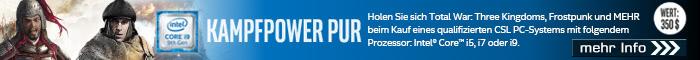 Kampfpower Pur: Gaming Bundle zu ausgewählten PC-Systemen!