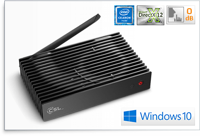 CSL Narrow Box Ultra HD Storage Line | Win 10