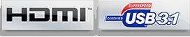 HDMI USB 3.1