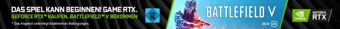 Battlefield V zu ausgewählten PC-Systemen!