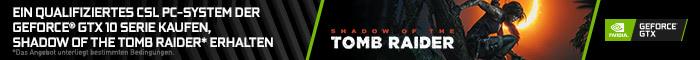 Shadow of the Tomb Raider zu ausgewählten PC-Systemen!