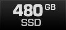 480 GB SSD