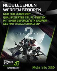 Destiny 2 zu ausgewählten PC-Systemen!