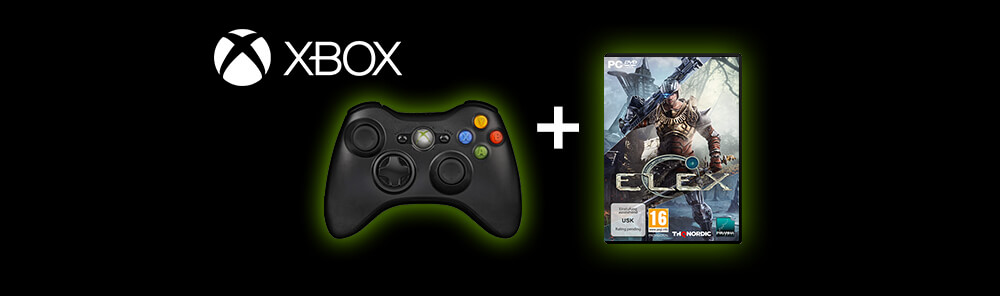 Microsoft XBOX Wireless Controller + ELEX
