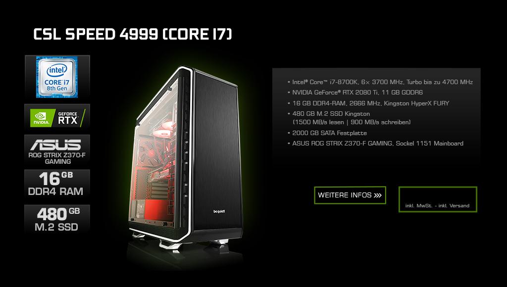 CSL Speed 4999 (Core i7)