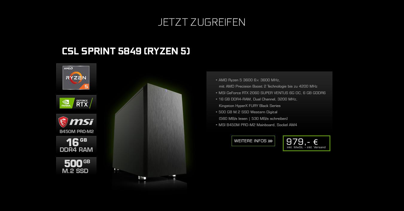 CSL Sprint 5849 (Ryzen 5)