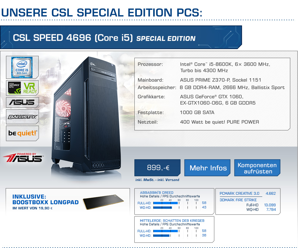 CSL Speed 4696 (Core i5) Special Edition
