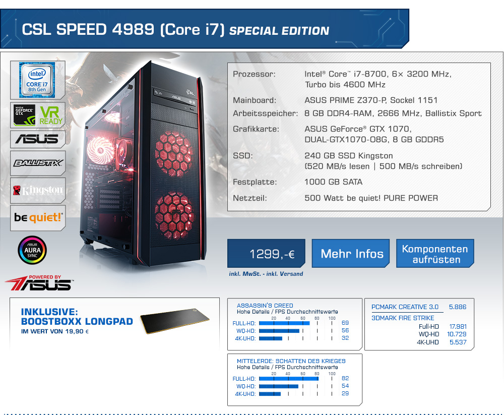CSL Speed 4989 (Core i7) Special Edition