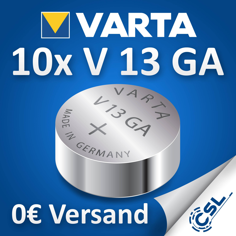 Original-Varta-V13GA-Knopfzelle-1-4-V-Lithium-V13-GA-lose-Industriezelle