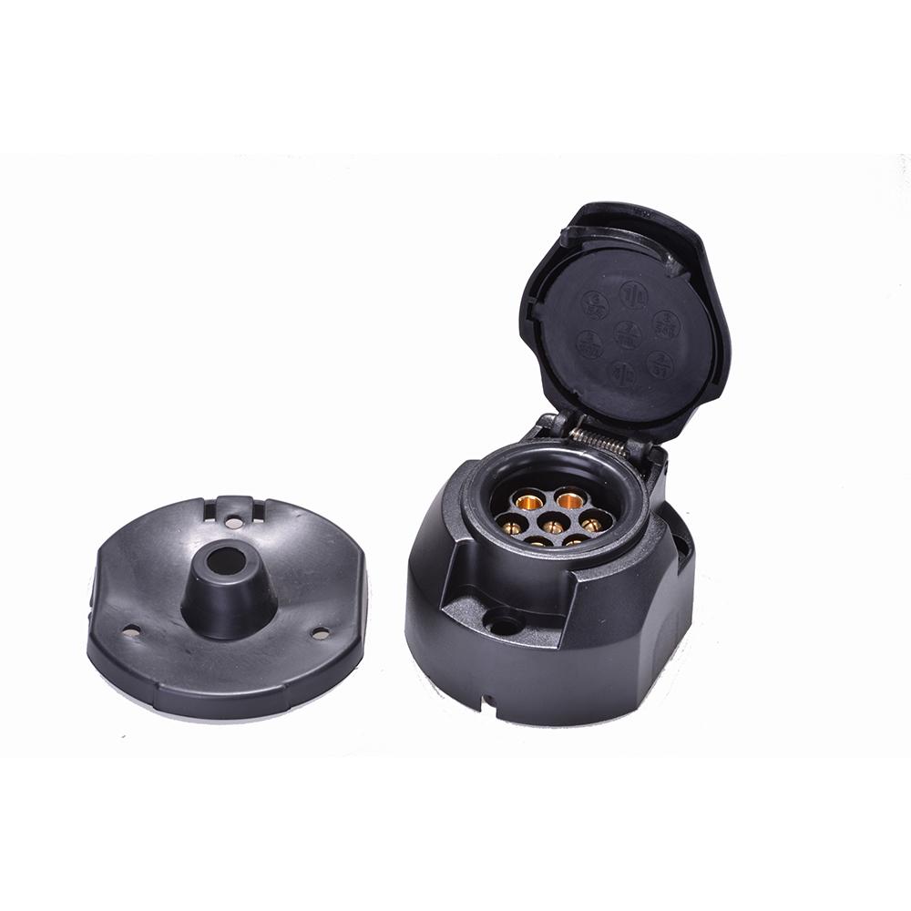 kfz anh nger stecker dose adapter anh ngerkupplung 7 polig 13 polig ebay. Black Bedroom Furniture Sets. Home Design Ideas